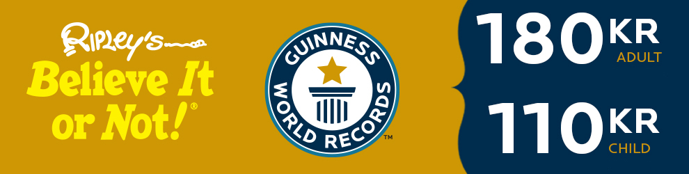 Ripley's Believe It or Not! and Guinness World Records ticket