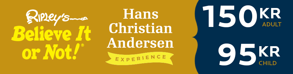Ripley's Believe It or Not! and Hans Christian Andersen Expereince ticket