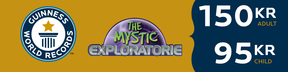 Guinness World Records and The Mystic Exploratorie ticket